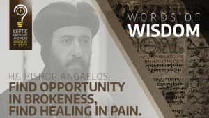 Find opportunity in brokenness, find healing in pain.