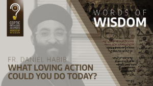 What loving action could you do today
