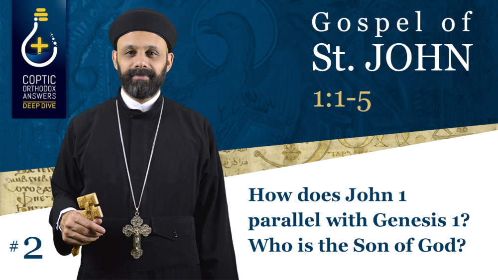 How does John 1 parallel with Genesis 1? Who is the Son of God?