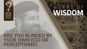 Are you blinded by your own ego or perceptions