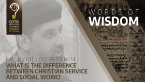 What is the difference between Christian service and social work