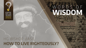 How to live righteously?
